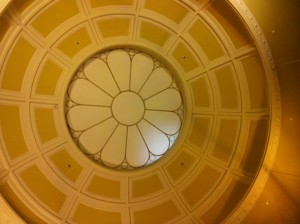 NH State Library rotunda
